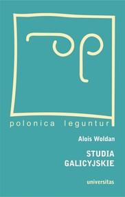 okładka Studia galicyjskie, Książka   Woldan Alois