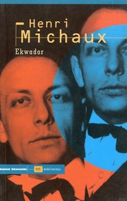 okładka Ekwador, Książka   Michaux Henri