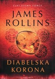okładka Diabelska korona, Książka | Rollins James