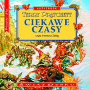 okładka Ciekawe czasy, Audiobook | Terry Pratchett