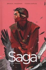okładka Saga Tom 2, Książka | Brian K. Vaughan, Fiona Staples