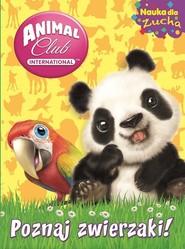 okładka Animal Club Nauka dla zucha nr 1, Książka  