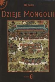 okładka Dzieje Mongolii, Książka  