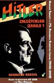 okładka Hitler założycielem Izraela, Książka   Kardel Hennecke