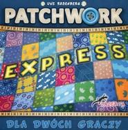 okładka Patchwork Express, Książka | Uwe Rosenberg