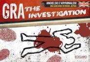 okładka The Investigation Angielski z kryminałem Gra karciana do nauki języka, Książka |