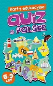 okładka Karty edukacyjne Quiz o Polsce, Książka | Majewska Maria