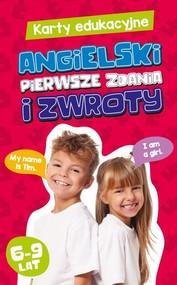 okładka Karty edukacyjne Angielski Pierwsze zdania i zwroty, Książka |