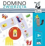 okładka Kapitan Nauka Domino obrazkowe Zwierzęta, Książka |