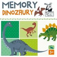 okładka Kapitan Nauka Memory Dinozaury, Książka |