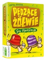 okładka Pędzące Żółwie - gra karciana, Książka |