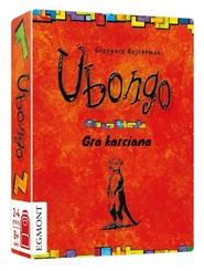 okładka Ubongo gra karciana, Książka |