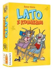 okładka Lato z Komarami, Książka |