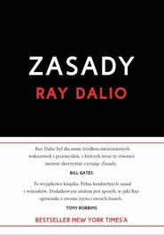 okładka Zasady Życie i praca, Książka | Dalio Ray