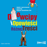 okładka Dowcipy i opowieści różnej treści, Audiobook | Jacek Illg, Elżbieta Spadzińska-Żak