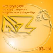 okładka Aby język giętki... cz. 9, Audiobook | Turek Krystyna