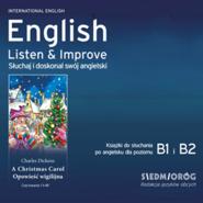 okładka English Listen & Improve - Opowieść Wigilijna, Audiobook | Charles Dickens
