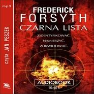 okładka Czarna lista, Audiobook | Frederick Forsyth