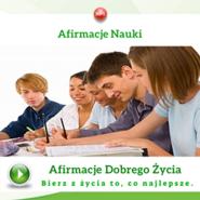 okładka Afirmacje nauki, Audiobook   Dondziłło Grzegorz