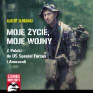 okładka Moje życie moje wojny…, Audiobook | Albert  Sługocki