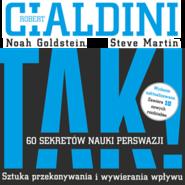 okładka TAK! 60 sekretów nauki perswazji, Audiobook | B. Cialdini Robert