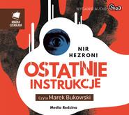 okładka Ostatnie instrukcje, Audiobook | Nir  Hezroni