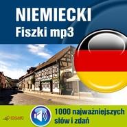 okładka Niemiecki Fiszki mp3 1000 najważniejszych słów i zdań, Audiobook   autor zbiorowy