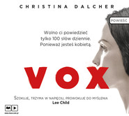 okładka Vox, Audiobook | Christina Dalcher