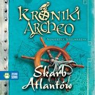 okładka Skarb Atlantów cz. 2 - Kroniki Archeo, Audiobook   Agnieszka Stelmaszyk