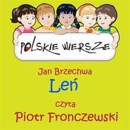 okładka Polskie wiersze - Leń, Audiobook | Jan Brzechwa