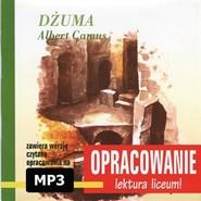 okładka Albert Camus Dżuma-opracowanie, Audiobook | I. Kordela Andrzej