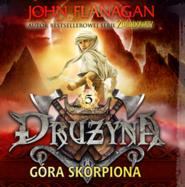 okładka Drużyna. Tom 5. Góra Skorpiona, Audiobook | John Flanagan