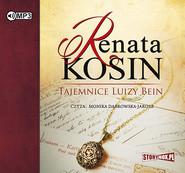 okładka Tajemnice Luizy Bein, Audiobook | Renata Kosin