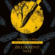 okładka Delikatny nóż, Audiobook   Philip Pullman