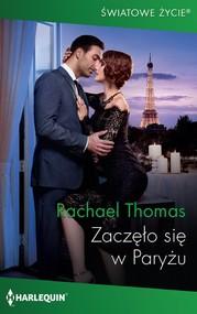 okładka Zaczęło się w Paryżu, Ebook | Rachael Thomas