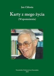 okładka Karty z mego życia, Ebook | Jan  Chłosta