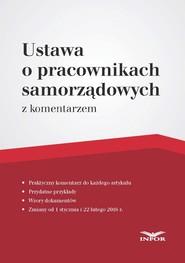 okładka Ustawa o pracownikach samorządowych – komentarz, Ebook | Magdalena Kasprzak