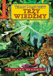 okładka Trzy wiedźmy, Ebook | Terry Pratchett