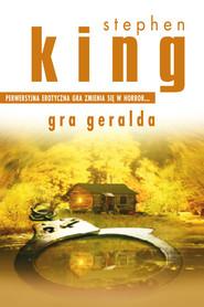okładka Gra Geralda, Ebook | Stephen King