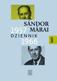 okładka Dziennik 1957-1966, Ebook | Sándor Márai
