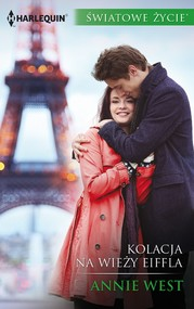 okładka Kolacja na wieży Eiffla, Ebook   Annie West