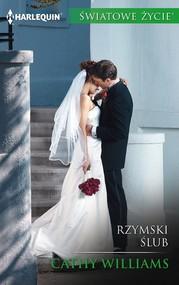 okładka Rzymski ślub, Ebook   Cathy Williams