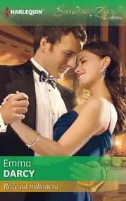 okładka Róże od milionera , Ebook | Emma Darcy