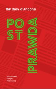 okładka Postprawda, Ebook | Matthew  d'Ancona