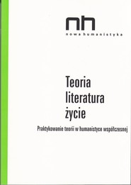 okładka Teoria - literatura - życie, Ebook   Ryszard  Nycz, Anna  Legeżyńska