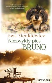 okładka Niezwykły pies Bruno, Ebook   Ewa Zienkiewicz