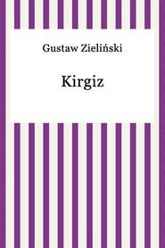 okładka Kirgiz, Ebook   Gustaw Zieliński