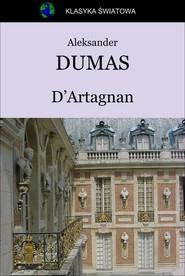 okładka D'Artagnan, Ebook   Aleksander Dumas (Ojciec)