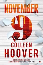 okładka November 9, Ebook | Colleen Hoover