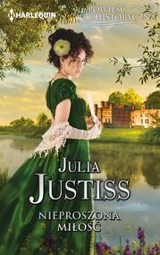 okładka Nieproszona miłość, Ebook | Justisss Julia